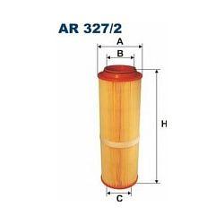 AR 327/2 F AR327/2 FILTR POWIETRZA MERCEDES A SERIA A160/170 SZT FILTRY FILTRON [871677]...