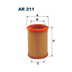 AR 211 F AR211 FILTR POWIETRZA SKODA 105 TRABANT 601 SZT FILTRY FILTRON [871860]...