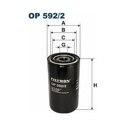 OP 592/2 F OP592/2 FILTR OLEJU DAF SERIA 45/55/F600/FA800CN/F1000 SZT FILTRY FILTRON [872543]...