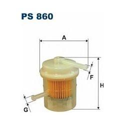 PS 860 F PS860 FILTR PALIWA DAEWOO TICO FILTRON 0.8S SUZUKI SWIFT 1.0 88-91 1.3 89-91 SZT FILTRY FILTRON [873413]...