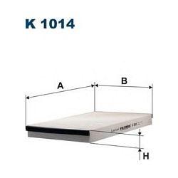 K 1014 F K1014 FILTR KABINOWY OPEL ASTRA II FILTRY FILTRON [873729]...