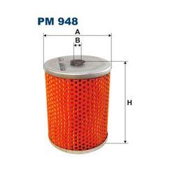 PM 948 F PM948 FILTR PALIWA BIALORUS MTZ-80 MTZ-82 - CIAGNIKI SZT FILTRY FILTRON [874149]...