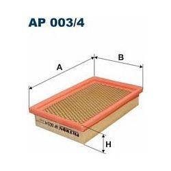 AP 003/4 F AP003/4 FILTR POWIETRZA CHRYSLER VOYAGER 2.5I/3.I V6 89- SZT FILTRY FILTRON [874191]...