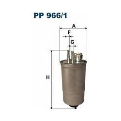PP 966/1 F PP966/1 FILTR PALIWA FIAT BRAVO/A/MAREA 1.9TD 99- SZT FILTRY FILTRON [874387]...