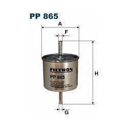 PP 865 F PP865 FILTR PALIWA FORD ESCORT 1,4 92-FIESTA 1,3I SZT FILTRY FILTRON [874519]...
