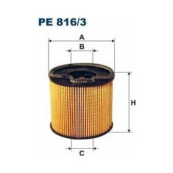 PE 816/3 F PE816/3 FILTR PALIWA CITROEN XSARA PEUGEOT 306 2,0 HDI 99 SZT FILTRY FILTRON [874878]...