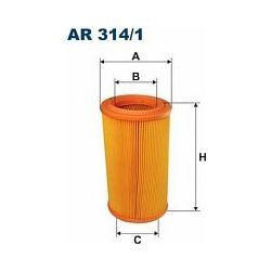 AR 314/1 F AR314/1 FILTR POWIETRZA CITRO XSARA 1,9TD 98-PEUGOT 306 SZT FILTRY FILTRON [874915]...
