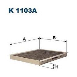K 1103A F K1103A FILTR KABINOWY FIAT STILO/BRAVO 07 SZT FILTRY FILTRON [875868]...