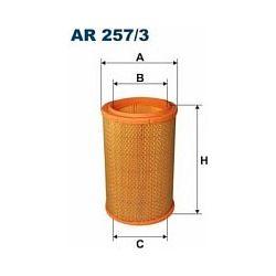 AR 257/3 F AR257/3 FILTR POWIETRZA RENAULT LAGUNA/ESPACE 1.9 DTI 97-01 SZT FILTRY FILTRON [876064]...