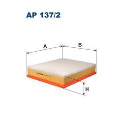 AP 137/2 F AP137/2 FILTR POWIETRZA RENAULT MASCOTT 110/130/140/150/90 SZT FILTRY FILTRON [878592]...