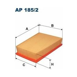 AP 185/2 F AP185/2 FILTR POWIETRZA RENAULT MEGANE II 1.5/1.6/2.0 SCENIC III 1.5/1.6/2.0 SZT FILTRY FILTRON [878849]...
