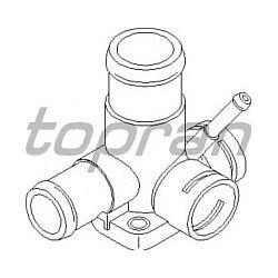 107 327 HP 107 327 KROCIEC CHLODNICY VW POLO CLASSIC/IBIZA/CORDOBA 1,9D 93 Z KLIMA I WSPOM. ( OE 068121132B SZT HANS PRIES MULTILINIA [879595]...