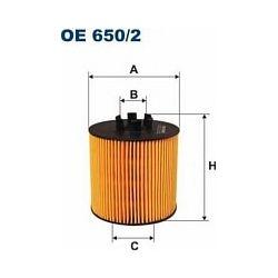 OE 650/2 F OE650/2 FILTR OLEJU AUDI A3 II 1.6 FSI 03- SKODA OCTAVIA II 04- VW GOLF V/JETTAII/PASSAT/POLI IV/TOURAN 1.4/1.6 FSI 04- SZT FILTRON [880706]...