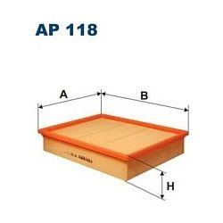 AP 118 F AP118 FILTR POWIETRZA F AP 118 SZT FILTRY FILTRON [880716]...