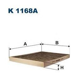 K 1168A F K1168A FILTR KABINOWY CHRYSLER VOYAGER 2.5 CRD 01- FILTRY FILTRON [880745]...