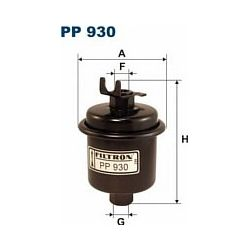 PP 930 F PP930 FILTR PALIWA HONDA CIVIC 1,4I 95- 1,6VTI 95- SZT FILTRY FILTRON [881115]...