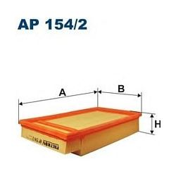AP 154/2 F AP154/2 FILTR POWIETRZA NISSAN ALMERA II 1.9DCI 02/03- SZT FILTRY FILTRON [881603]...