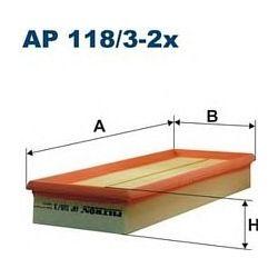 AP 118/3 F AP118/3-2X FILTR POWIETRZA MERCEDES S 280 320 430 500 W22098- ; SZT FILTRY FILTRON [881767]...