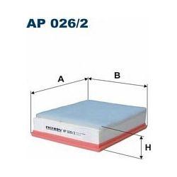 AP 026/2 F AP026/2 FILTR POWIETRZA BMW 1F20 116D/118D/120D SZT FILTRY FILTRON [882601]...