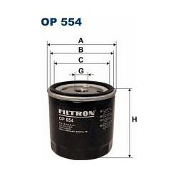 OP 554 F OP554 FILTR OLEJU CITROEN PEUGOT 309 (WSZYSTKIE) SZT FILTRY FILTRON [882862]...