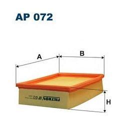 AP 072 F AP072 FILTR POWIETRZA OPEL CORSA 1,5D 1,5TD 93- SZT FILTRY FILTRON [883687]...