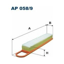 AP 058/9 F AP058/9 FILTR POWIETRZA CITROEN C4/PEUGEOT 207/3008/308 1.4/1.6 VTI SZT FILTRY FILTRON [884113]...