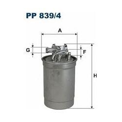 PP 839/4 F PP839/4 FILTR PALIWA AUDI A4 A6 2.5TDI V6 97- VW PASSAT SZT FILTRY FILTRON [884791]...