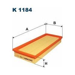 K 1184 F K1184 FILTR KABINOWY VOLVO FA/FL/FL4/VL6 86-00 FILTRY FILTRON [887074]...