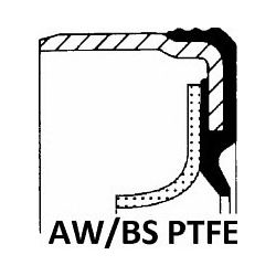375.560 ELR 375.560 SIMMERING USZCZELNIACZ 79X99X9,6/ASW LD PTFE/ACM/RWDR-KURBELW. SZT ELRING USZCZELKI ELRING [887887]...