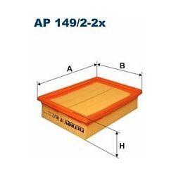 AP 149/2-2x F AP149/2-2X FILTR POWIETRZA SEAT IBIZA 1,0I1,4I CORDOBA POLO 99 SZT FILTRY FILTRON [888755]...