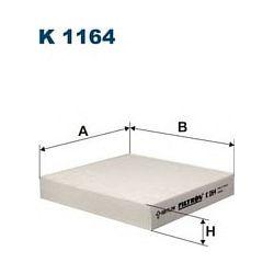 K 1164 F K1164 FILTR KABINOWY FIAT SEDICI/SUZUKI SX4/HONDA JAZZ 1.2/1.4 02 SZT FILTRY FILTRON [888763]...