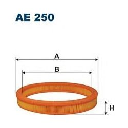 AE 250 F AE250 FILTR POWIETRZA FORD ESC 1,4 89- FIESTA BF361 SZT FILTRY FILTRON [888772]...