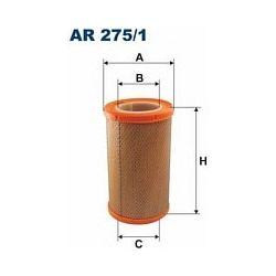 AR 275/1 F AR275/1 FILTR POWIETRZA RENAULT MEGANE I/SCENIC 1,6/1,6I SZT FILTRY FILTRON [889504]...