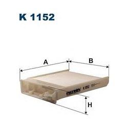 K 1152 F K1152 FILTR KABINOWY NISSAN MICRA III 1.0-1.5 01/03- RENAULT MODUS 1.4-1.6 04- FILTRY FILTRON [890739]...