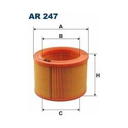 AR 247 F AR247 FILTR POWIETRZA CITR BX 1,5RE 1,6 1,9 PEUGOT 205 SZT FILTRY FILTRON [891036]...