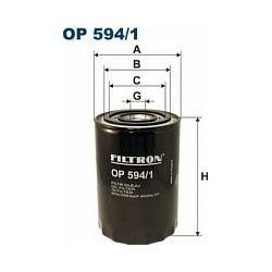 OP 594/1 F OP594/1 FILTR OLEJU RENAULT LAGUNA 2,2D 95-2,2TD SAFRA SZT FILTRY FILTRON [891433]...