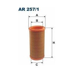 AR 257/1 F AR257/1 FILTR POWIETRZA RENAULT MEGANE 1.9TD 97-01 SZT FILTRY FILTRON [891809]...