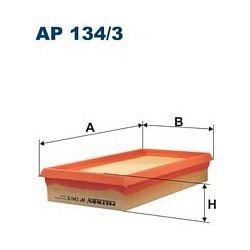 AP 134/3 F AP134/3 FILTR POWIETRZA RENAULT MEGANE 1.9D 3/99- SCENIC II SZT FILTRY FILTRON [892044]...