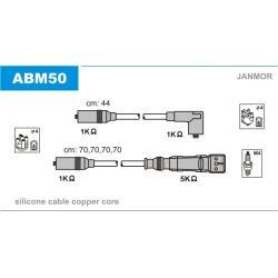 ABM50 JAN ABM50 PRZEWOD ZAPLONOWY AUDI A3/A4/SEAT IBIZA/LEON/OCTAVIA/GOLF IV/PASSAT 1.6/2.0 KPL JANMOR PRZEWODY ZAPLONOWE JANMOR [849866]...