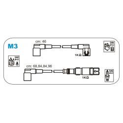 M3 JAN M3 PRZEWOD ZAPLONOWY MERCEDES 190/C124/W-460/S-123/S-124/W-123 KPL JANMOR PRZEWODY ZAPLONOWE JANMOR [858965]...