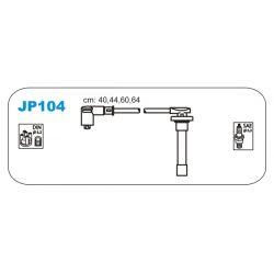 JP104 JAN JP104 PRZEWOD ZAPLONOWY HONDA CIVIC IV/V/VI/CONCERTO/ROVER 200/400 1.3/1.4/1.5/1.6 KPL JANMOR PRZEWODY ZAPLONOWE JANMOR [865671]...