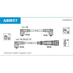 ABM57 JAN ABM57 PRZEWOD ZAPLONOWY SEAT AROSA/IBIZA/VW GOLF III/POLO 1.0/1.4/1.6 KPL JANMOR PRZEWODY ZAPLONOWE JANMOR [869113]...
