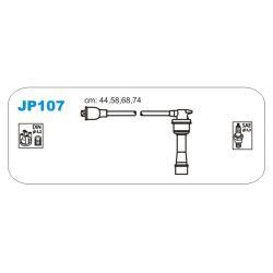JP107 JAN JP107 PRZEWOD ZAPLONOWY HYUNDAI LANTRA/SONATA/KIA JOICE 1.6/1.8/2.0 90 - KPL JANMOR PRZEWODY ZAPLONOWE JANMOR [869902]...