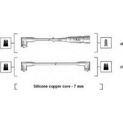 941175230762 MM MSK762 PRZEWOD ZAPLONOWY SEAT AROSA/IBIZA/VW GOLF III/POLO 1.0/1.4/1.6 KPL MAGNETI MARELLI PRZEWODY ZAPLONOWE (GR [868969]...