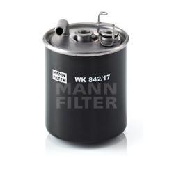 WK 842/17 MAN WK842/17 FILTR PALIWA MERCEDES KLASA A/VANEO 1.6/1.7 CDI 98- SZT MANN-FILTER FILTRY MANN-FILTER [884842]...