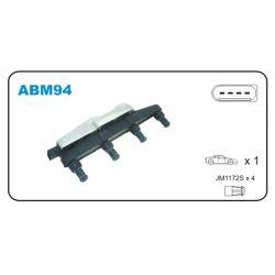 ABM94 JAN ABM94 CEWKA ZAPLONOWA + MODUL SEAT AROSA/SKODA FABIA/VW LUPO 1.0/1.4 + LACZNIK KPL JANMOR CEWKI ZAPLONOWE JANMOR [888054]...