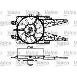 698483 V 698483 WENTYLATOR CHLODNICY FIAT PUNTO II 99-09/05 1.2 8V-16V TYP VALEO SZT VALEO CHLODNICE VALEO [866531]...