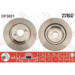 DF3021 TRW DF3021 TARCZA HAMULCOWA 262X21 V 4-OTW HONDA CIVIC//CRX/ROVER 200/400 94 SZT TRW TARCZE [875926]...