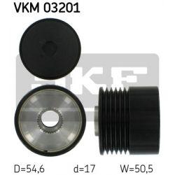 VKM 03201 SKF VKM03201 SPRZEGLO ALTERNATORA FIAT PUNTO / GRANDE PUNTO 1.3 D MULTIJET 05 SZT SKF SPRZEGLA ALTERNATORA SKF [879242]...