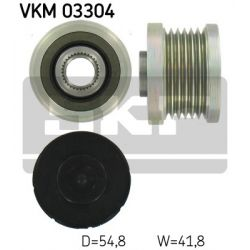 VKM 03304 SKF VKM03304 SPRZEGLO ALTERNATORA CITROEN C3/C4/C5/DS3/PEUGEOT 207/308/3008/5008 1.4/1.6 06; SZT SKF SPRZEGLA ALTERNATORA SKF [879250]...